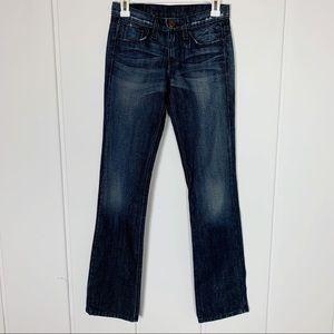 "Ksubi 25"" Dark Straight Leg Denim Jeans BB59"
